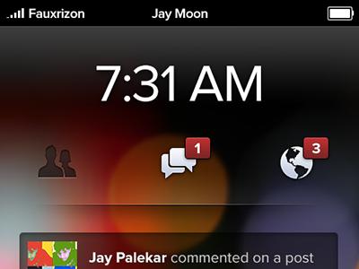 Lock Screen facebook phone lock screen
