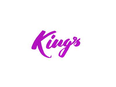 Kings brush pen tombow kings nba calligraphy lettering brush