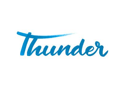 Thunder brush pen tombow thunder nba calligraphy lettering brush