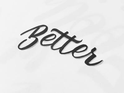 Better brush lettering brush pen faber castell calligraphy