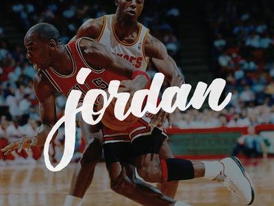 MJ Mondays mj mondays brush lettering hand lettering hand type bulls jordan tombow calligraphy lettering type typography