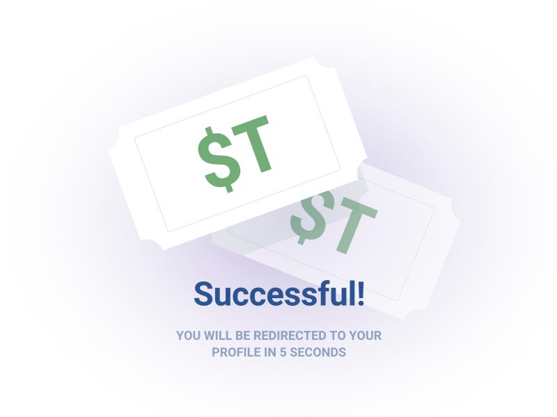 GC – Successful purchase purchase sketchapp ui illustration