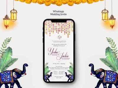 Whatsapp Wedding Invite