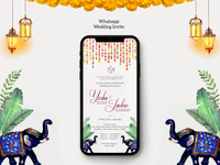 Whatsapp Wedding Invite