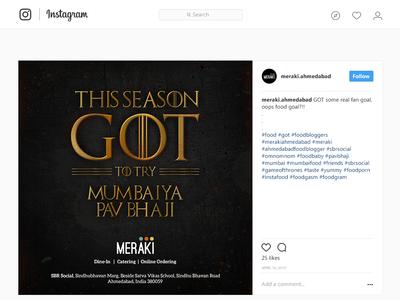 Social Media - Instagram Post