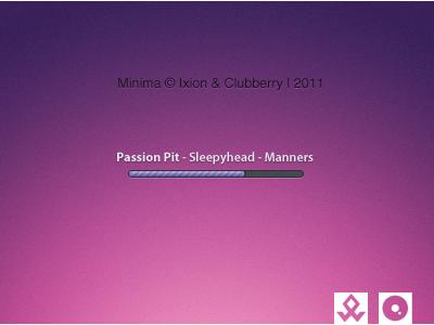 Minima clubberry ixion idioxy minima cad cd art display player skin mediaplayer