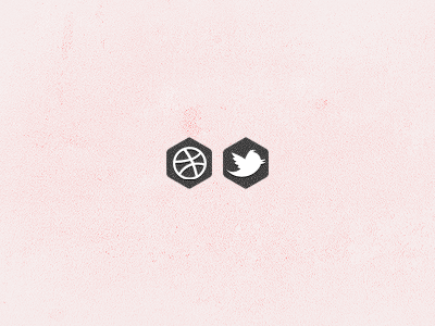 Social hexagons social networking icon diamond hexagons