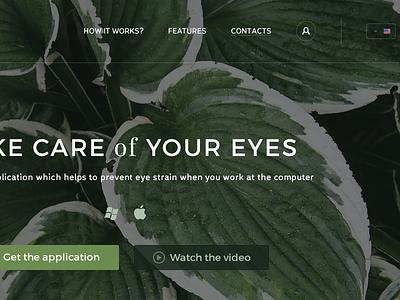 Viewaide desktop application design web site landing viewade