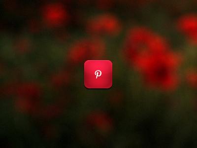 Pinterest pinterest icon iphone red