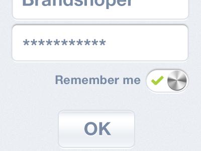 Brandshop ui iphone app brandshop