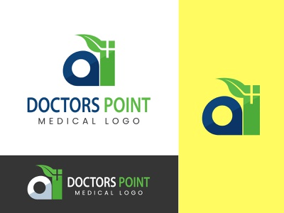 Doctors Point | Medical Logo Design web logo logo designs logo designer logos logo design logodesign m logo mark logo medical logo idea doctorlogo design doctors m logo medical logo design medical logo doctor logo