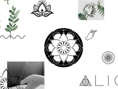 Logo Process for Align Yoga