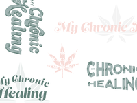 My Chronic Healing - Medical Marijuana Blog Branding