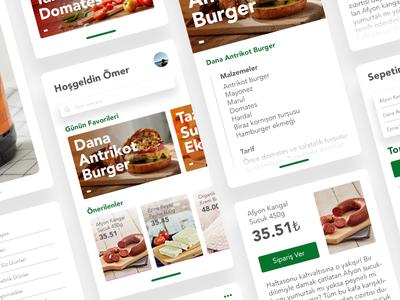 Tazedirekt - Concept App Design