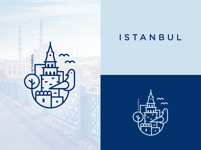 Sticker Design for My Hometown Istanbul!