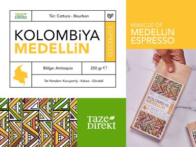 Tazedirekt Coffee - Branding & Packaging