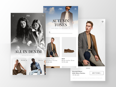Zara - App Redesign