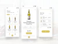 Winery Luxury Wines - App Design