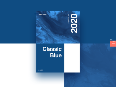 PANTONE - Color of the Year 2020