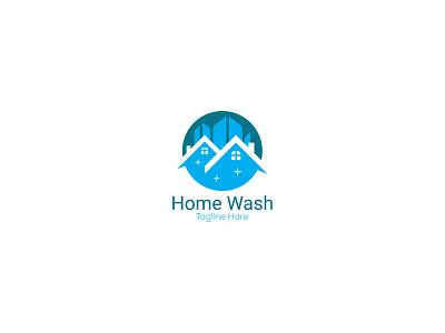 Home wash logo design. best logo design top logo design logo 2021 nayon khan rakibul islam nayon logo illustration design creative  design creative design minimal logo design graphic design company logo creative logo design business logo