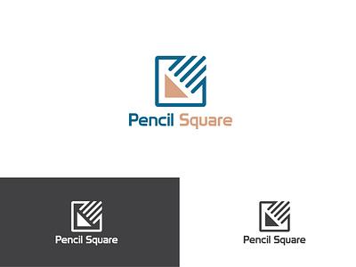 Pencil Square pencil logo design 2021 logo 2021 pencil squre logo design pencil logo logo illustration design creative  design creative design minimal logo design graphic design company logo creative logo design business logo