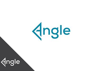 Angel Minimal Letter Logo minimalist logo letter logo angle angel angle logo logo illustration design creative  design creative design minimal logo design graphic design company logo creative logo design business logo