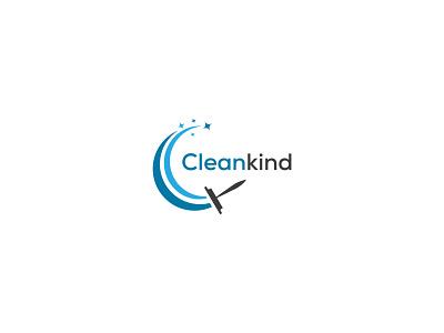 Cleaning logo design cleankind logo logo design by nayon cleaning logo logo illustration design creative  design creative design minimal logo design graphic design company logo creative logo design business logo