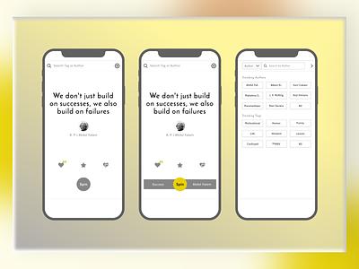 Mobile App Design (Qtoniq) home page ui branding agency brand design branding design brand uxdesigner design uidesign uxdesign mobile design mobile app design designagency webdesign theinfinitecanvas productdesign