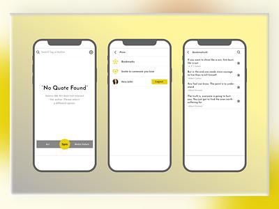 Mobile App Design (Qtoniq) branding design brand design branding ui mobile app design mobile design webdesign designagency uidesign uxdesign theinfinitecanvas productdesign