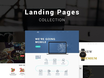 Collection Landing Pages