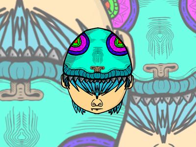 CHAMELEON BOI caracter caracter design logo graphic design illustrator illustration icon design branding art animation
