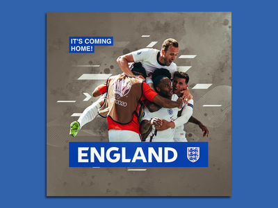 Poster Design [ It's Coming Home ] poster design graphic design