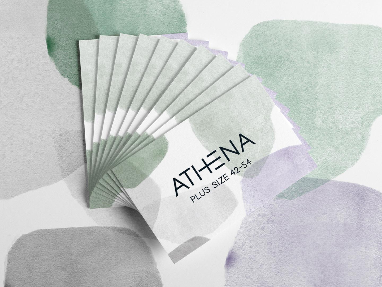 Athena Fashion Branding By Visuelle Fabrik Roman Albertini
