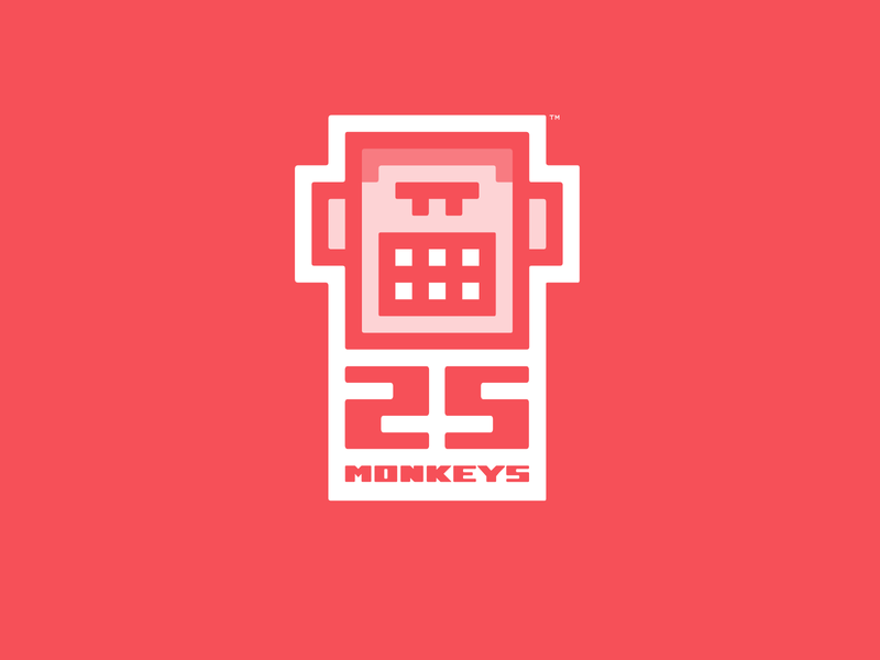 25 Monkeys Logo