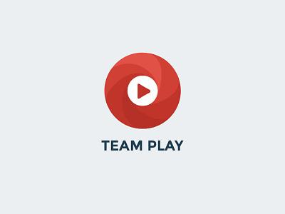Team Play logo music play team app ios
