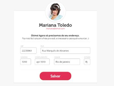 register form login form register profile avatar baby minimalist