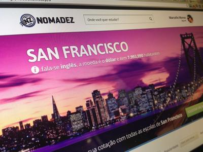 San Francisco  website san francisco travel interface school trip city