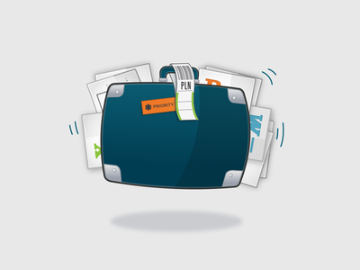 Illustration for data import and migration planio software redmine data import migration suitcase files travel