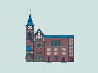 Zwingli Kirche in Berlin Friedrichshain