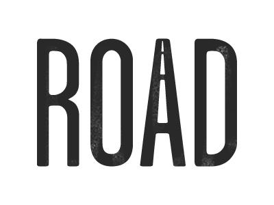 ROAD road logo black white