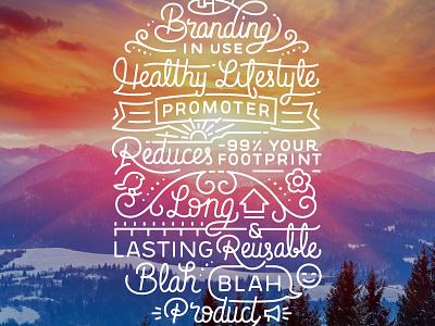 Lettering for Roll'eat bocnroll wrap sandwich reusable vector type handmade lettering