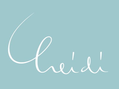 —heidi— heidi handlettering lettering name handwriting