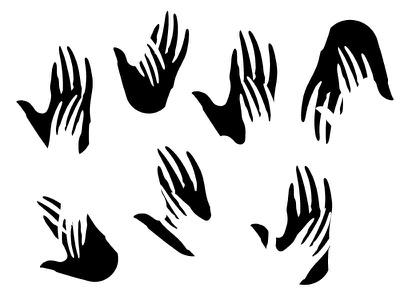 creepy touch black hand finger illustration touch creepy
