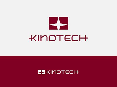 Kinotech symbol icon technology cinema curtain logo theatar system movie