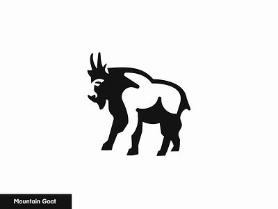 Mountain Goat  12/24 icon logo nature animal goat mountain