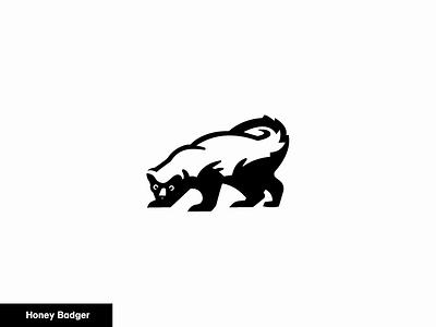 honey badger 18/24 icon animal logo badger honeybadger