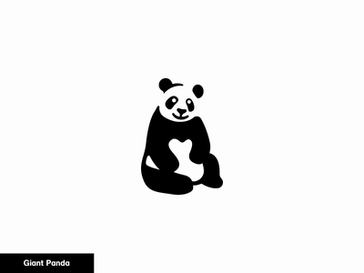 Giant Panda 22/24 panda giant icon animal bear