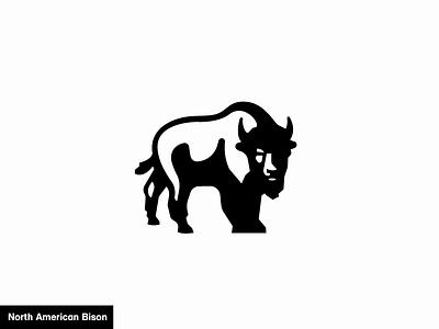 North American Bison 23/24 animal america logo icon bison
