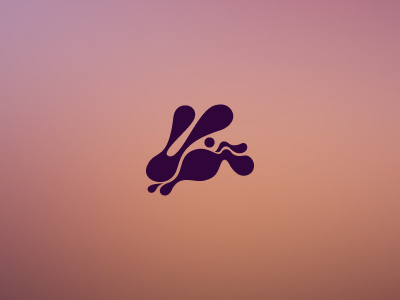 Candy Rabbit candy rabbit delicious jump animal logo symbol speed energy ears