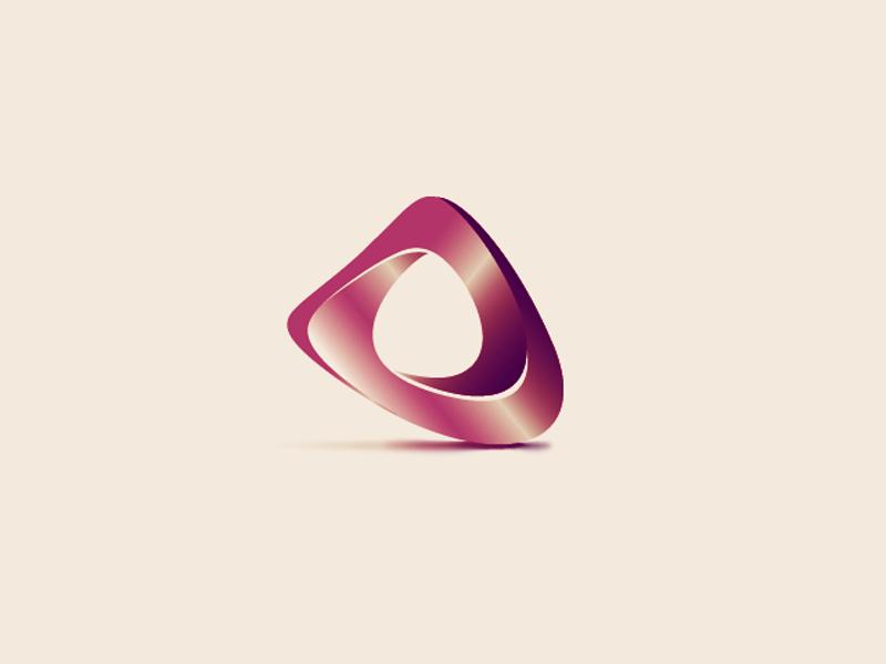 PrimeTime mobius logo prime time abstract shape gradient